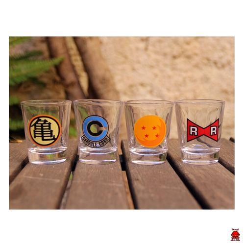 Pack vasos de chupito Dragon Ball