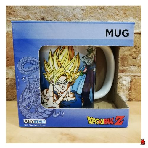 Taza Dragon Ball Goku, Piccolo, Vegeta