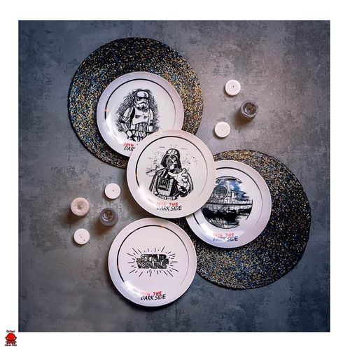 Set de platos Star Wars