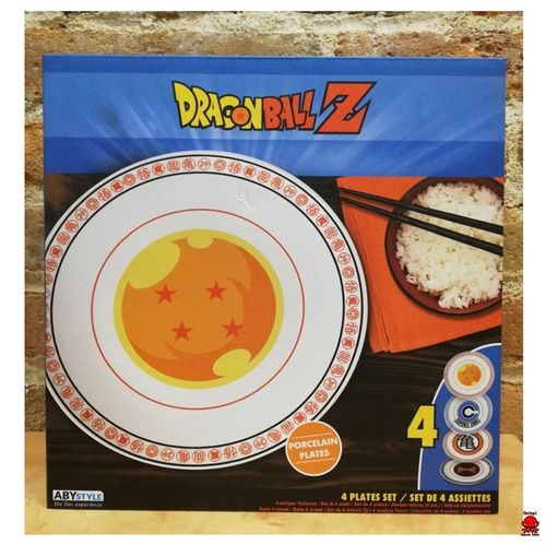Set de platos Dragon Ball